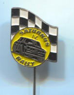 Saturnus Rallye Race, Car, Auto, Automotive, Vintage Pin, Badge, Abzeichen - Rally
