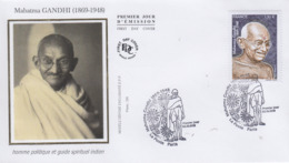 Enveloppe  FDC  1er  Jour   FRANCE    Mahatma   GANDHI    2019 - Mahatma Gandhi
