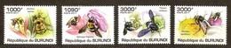 Burundi 2011 OCBn° 1230-1233 *** MNH Cote 15 Euro Faune Bijen Abeilles Bees - 2010-..: Neufs
