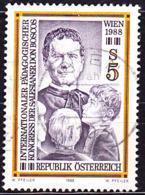 Österreich Austria Autriche - Pädagogischer Kongress Der Salesianer (MiNr: 1909) 1988 - Gest Used Obl - 1945-.... 2nd Republic