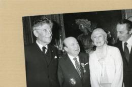 """Marcel  CARNE  Grand Officier De L'ordre Du Mérite  , Michèle MORGAN  """" Quai Des Brumes """" Et PAUL LOUIS WEILLER - Identifizierten Personen"""