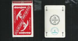 Jeu De 32 Cartes Neuves Avec Leur Attache Celophane Publicité Distillerie Benoit Serre à Toulouse - 32 Karten