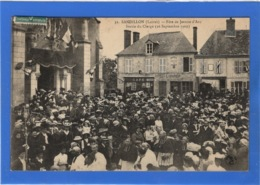 45 LOIRET - SANDILLON Fête De Jeanne D'Arc, Sortie Du Clergé - Autres Communes