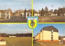 77 SEINE Et MARNE Carte Multivues De L'école Interarmées Des Sports E.I.S. De FONTAINEBLEAU - Fontainebleau