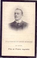 Devotie Devotion Doodsprentje Overlijden - Albert Vanderborght - Corbeek Loo - Korbeek Loo 1879 - 1907 - Décès