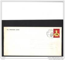 BELGIQUE, FDC 1973, ORGANISATION MONDIALE DE LA SANTE, PLI PREMIER JOUR. Défraichi  (JNL65) - FDC
