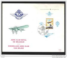 BELGIQUE FDC 1976 AERO CLUB ROYAL DE BELGIQUE. (JNL53) - FDC