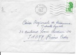 FLAMMES MUETTES ARDENNES LOT 20 ENVELOPPES FR0022 - Poststempel (Briefe)