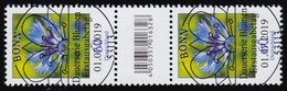 3468 Kornblume 60 Cent Aus 200er, Paar Mit Nr., Codierfeld, Ohne Nr. ESSt Bonn - Rollenmarken