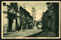 Wilno - Ul. S-to  Janska - Dominikanerstrasse - Viaggiata In Busta - Rif. Ad526 - Lituania