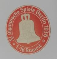 Berlin  1936 GERMANY   Berlino  OLIMPICS   OLIMPIADI  OLIMPIQUE   ERINNOFILO  ERINNOPHILIE    Envelope CINDERELLA - Sommer 1936: Berlin