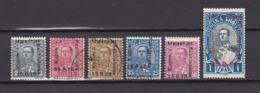 Albanien - 1928 - Michel Nr. 172 + 174/178 - 96 Euro - Albania