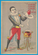 IMAGE LA KABILINE VERITABLE TEINTURE / IMP  GERARDIN VERSAILLES / 187 MM X 128 MM / CALENDRIER 1902 AU DOS - Otros