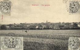 PARNOT  Haute Marne Vue Generale + Beaux Timbres Cachets 1C X5 RV - Francia