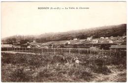 78 YVELINES La Vallée De Chevreuse à RODHON Cliché Peu Courant - Frankreich