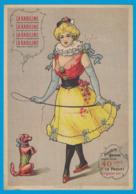 IMAGE LA KABILINE VERITABLE TEINTURE / IMP  GERARDIN VERSAILLES / 185 MM X 128 MM / CALENDRIER 1902 AU DOS - Otros
