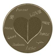 Monnaie De Paris , 2015 , Donzenac , Une Médaille Pour L'Amour , Revers 2 NG - Monnaie De Paris