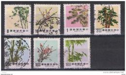 TAIWAN:  1984/89  FLORA  -  7  VAL. US. -  YV/TELL. 1537//1790 - 1945-... Repubblica Di Cina
