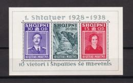 Albanien - 1938 - Michel Nr. Block 3 - 45 Euro - Albanien