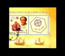 Rumänien / Romania: 'Amerika - Kolumbus, 2005-2006' / 'America - Christopher Columbus', Mi. 5975; SG 6560 Oo - 1948-.... Repúblicas