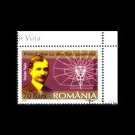 Rumänien / Romania: 'Traian Vuia - Flugzeug, 2006 / 'Flying Machine', Mi. 6047; SG 6634 Oo - 1948-.... Repúblicas