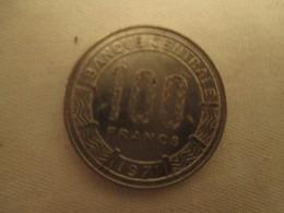 Gabon  100 Francs  1971 Tres Bon Etat - Gabón