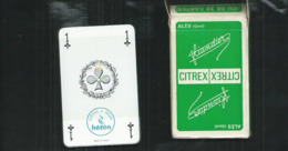 Jeu De 32 Cartes Neuves Avec Leur Attache Celophane Publicité Citrex De Liandier à Alès (Gard) - 32 Cartes