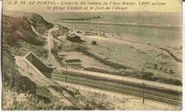 1939 LE PORTEL - Vue Peu Courante Entrée Tunnel Plage Carnot Fort De Heurt - Le Portel