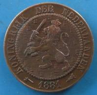 PAYS-BAS, Lion Couronné, 2 1/2 Cents 1881 Utrecht - [ 3] 1815-… : Regno Dei Paesi Bassi