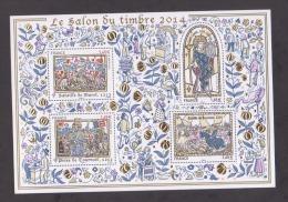 FRANCE / 2014 / Y&T BF N° 135 ** : Salon Du Timbre 2014 (BF Histoire De France) - Gomme D'origine Intacte - Sheetlets