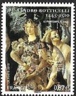 FRANCE  2010 -  YT   492 - Botticelli  -  Oblitéré - France