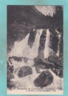 Small Postcard Of Cascade De Lutour,Cauterets,Pyrenees, FranceJ69. - Other