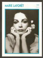 PORTRAIT DE STAR 1965 FRANCE - ACTRICE MARIE LAFORET - ACTRESS CINEMA FILM PHOTO - Fotos