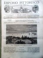 Emporio Pittoresco Del 29 Luglio 1877 Tipografia Carta Continua Thomson Danubio - Voor 1900