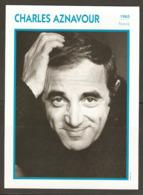 PORTRAIT DE STAR 1965 FRANCE - ACTEUR CHARLES AZNAVOUR - ACTOR CINEMA FILM PHOTO - Fotos
