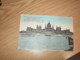 Budapest Orszaghaz Sie Werden Schon Wenn Sie Foldes Margit Creme - Hongarije