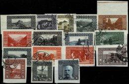 1906, Kpl. Nr. 29-44, Ungezähnt, ANK € 250.-  , A2502 - Bosnien-Herzegowina
