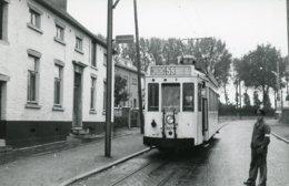Pont-à-Celles. SNCV-Hainaut. Tramway Vicinal Ligne 59. Cliché Jacques Bazin. Date Du Cliché Inconnue (vers 1955 ?) - Trains