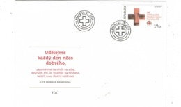 Czech Republic  2019 - Czech Red Cross, FDC - Rotes Kreuz