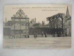 ATHIS MONS - Grille D'honneur De M. Le Baron Alphonse De Courcel - Sénateur De Seine Et Oise (animée) - Athis Mons