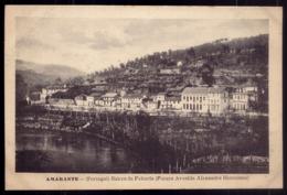 AMARANTE Bairro Da Feitoria (futura Av.Alexandre Herculano) - Edição PHOTOGRAPHIA A.T.Carneiro PORTUGAL 1909 - Porto