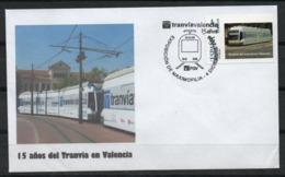 España. 2009. 15 Años Del Tranvía En Valencia. - Poststempel - Freistempel