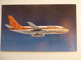 ALOHA  B 737   AIRLINE ISSUE / CARTE COMPAGNIE - 1946-....: Modern Era