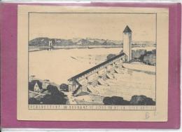 PERSPECTIVE DU BARRAGE DE JONS VU DE LA RIVE DROITE  1934-1937 - Cartes
