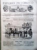 Emporio Pittoresco Del 5 Agosto 1877 Istituto Rachitici Milano Washington Russia - Voor 1900