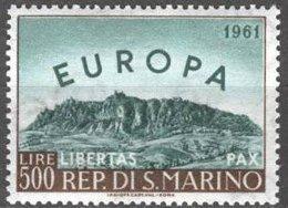 Saint-Marin San Marino Cept 1961 Yvertn° 523 *** MNH Cote 37,50 Euro Europa - Europa-CEPT