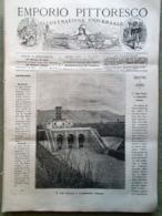 Emporio Pittoresco Del 12 Agosto 1877 Varna Mar Nero Argenteria Elkinson Bisonte - Voor 1900
