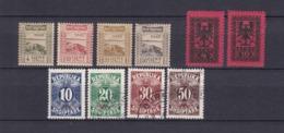 Albanien - Portomarken - 1920/25 - Sammlung - 44 Euro - Albania