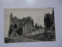 CPA 03 ALLIER - FERRIERES SUR SICHON : Ruines Du Château De MONTGILBERT - Otros Municipios