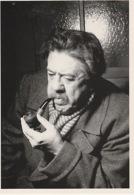 19 / 11 / 218. -  MICHEL. SIMON  -  SERGE  LIDO   ( 1952 )  - C P M - Acteurs